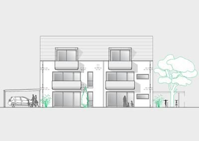 Verkauft: 6-Familienhaus in der Grünlandsiedlung