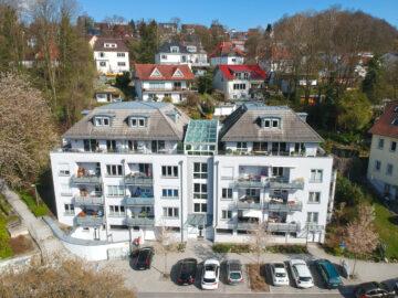 VERKAUFT: TOP-Lage: Drei-Zimmer-Wohnung mit sonnigem Westbalkon und Blick auf Mehlsack und Obertor, 88212 Ravensburg, Etagenwohnung