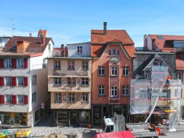 VERKAUFT: Historisches Wohn- und Geschäftshaus mit renommierter Gastronomie in Bestlage, 88212 Ravensburg, Renditeobjekt