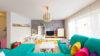 VERKAUFT: Neuwertige Vier-Zimmer-Erdgeschosswohnung mit Garten in zentraler Lage - Wohnzimmer