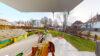 VERKAUFT: Neuwertige Vier-Zimmer-Erdgeschosswohnung mit Garten in zentraler Lage - Terrasse und Garten