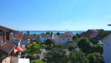 Tolle Neubauwohnung mit Seeblick: 2-Zimmer-Wohnung im Dachgeschoss mit Süd-West Balkon, 88709 Meersburg, Dachgeschosswohnung
