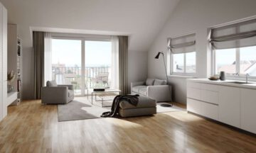 VERKAUFT: Neubau in Seenähe: 2-Zimmer-Wohnung im Dachgeschoss mit Süd-Ost Ausrichtung, 88709 Meersburg, Dachgeschosswohnung