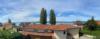 Seltene Gelegenheit: Freistehendes Einfamilienhaus mit See- und Bergsicht und Privatstrand - Balkon Seepanorama