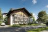 Neubau direkt in Oberstdorf: 6-Familienhaus mit Tiefgarage, hochwertig ausgestattet - Ansicht Süd