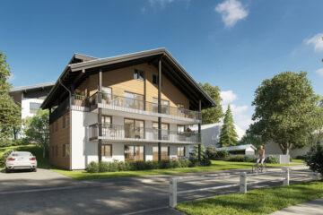 Neubau direkt in Oberstdorf: 6-Familienhaus mit Tiefgarage, hochwertig ausgestattet, 87561 Oberstdorf, Mehrfamilienhaus